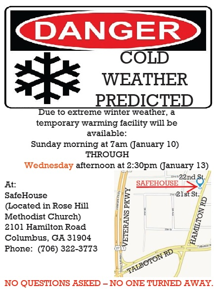 Cold Weather Flyer